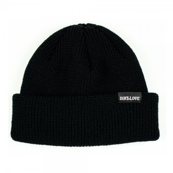 LABEL BEANIE - BLACK