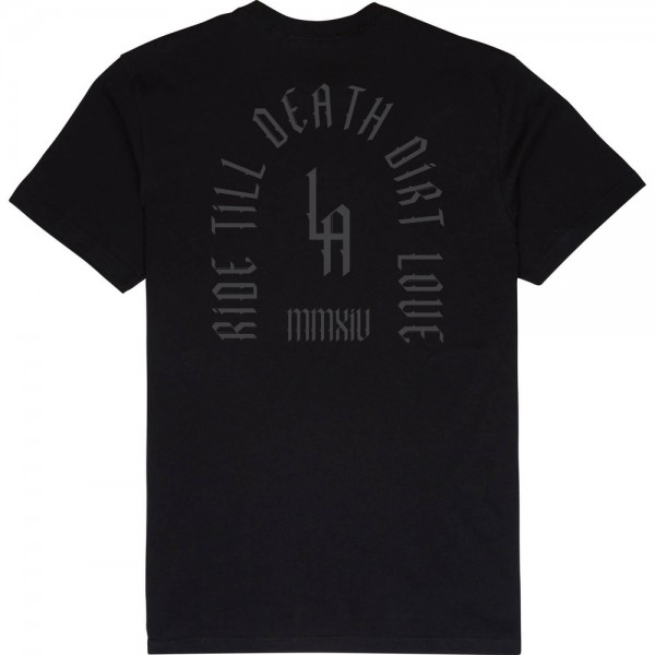 TILL DEATH TEE-BLACK ( SOLD OUT )