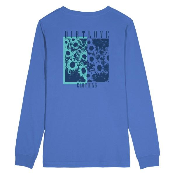 FLORA LONGSLEEVE TEE - BLUE
